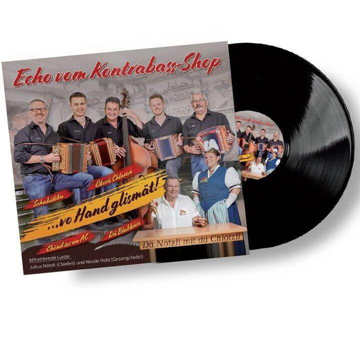 """""""Echo vom Kontrabass-Shop"""" auf Vinyl-LP"""